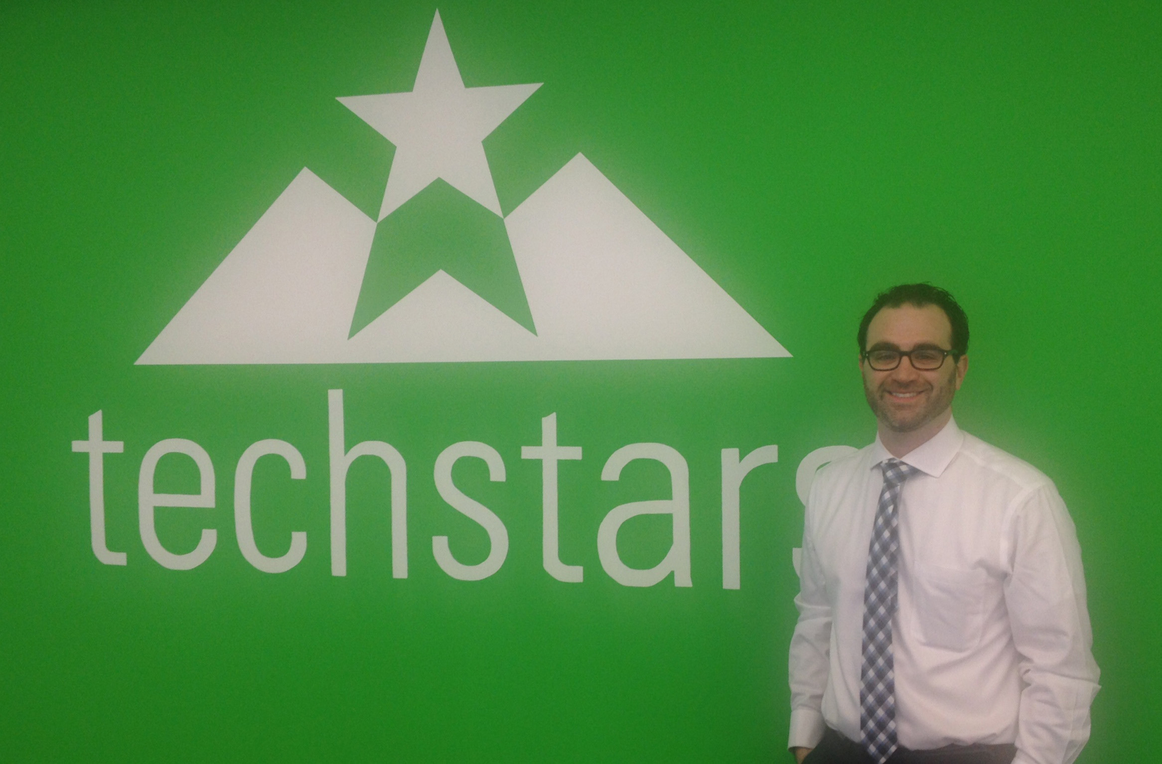 Danny Mizrahi, Contango IT CEO, at the Techstars office on July 1, 2014.