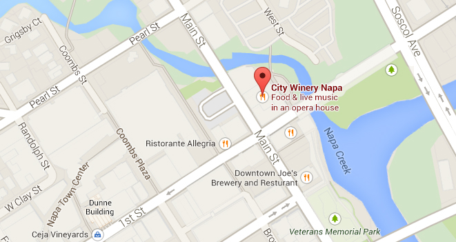 City Winery Napa Location