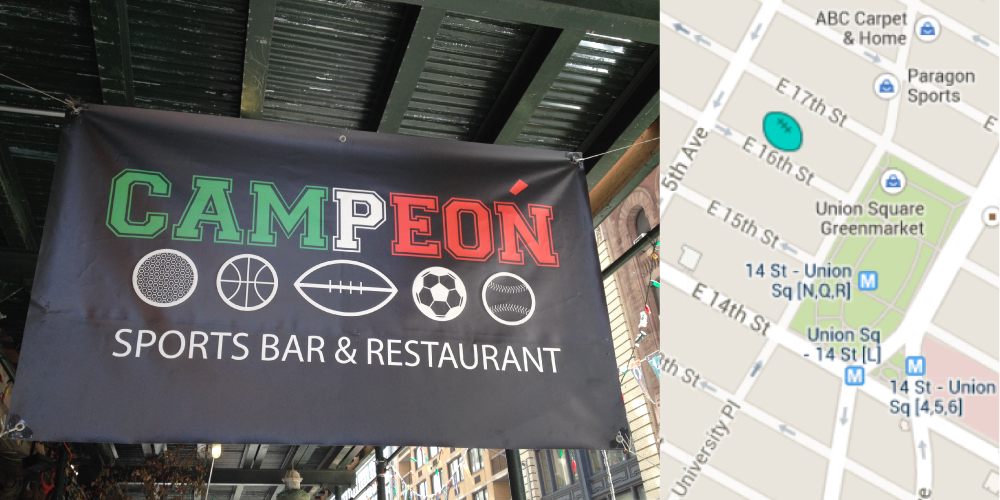 Campeon Mexican Restaurant and Sports Bar NYC