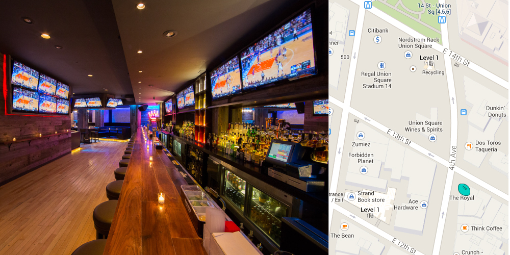 The Royal Sports Bar 4th Ave NYC