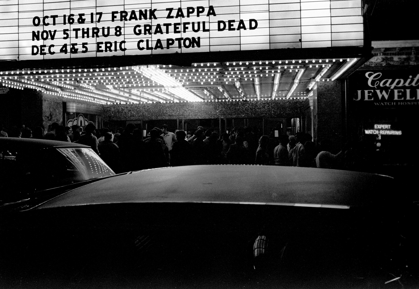 Capitol Theatre 1970 Port Chester New York