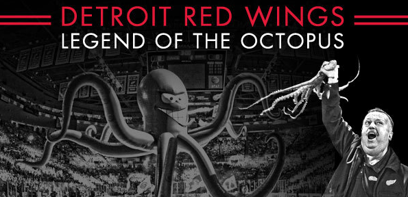 Detroit Red Wings Legend of the Octopus