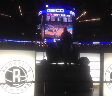 Brooklyn Nets DJ Fan Engagement Free WiFi