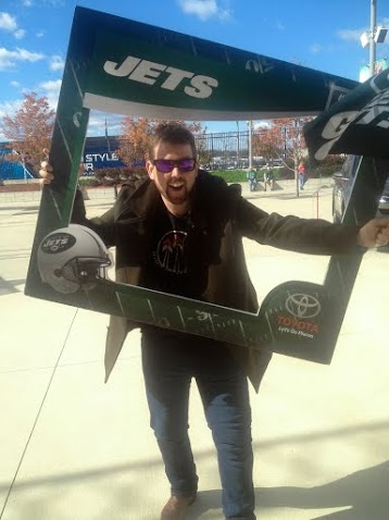 Blair Hughes at the New York Jets Game